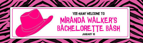 Cowgirl Bachelorette Banner