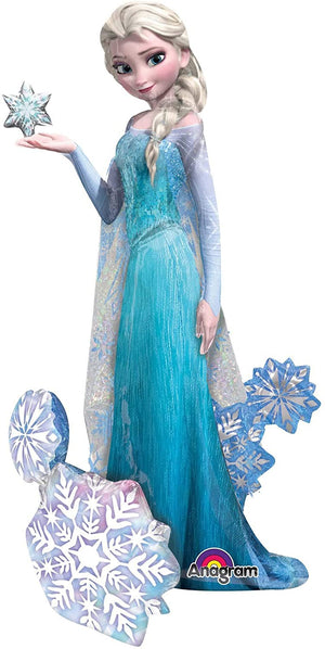 "Anagram International Elsa the Snow Queen Air Walker Party Balloon, 57"", Multicolor"