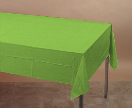 Fresh Lime Plastic Tablecover