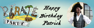 Pirate Birthday Party Banner