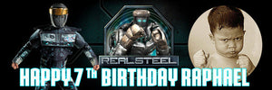 Real Steel Banner