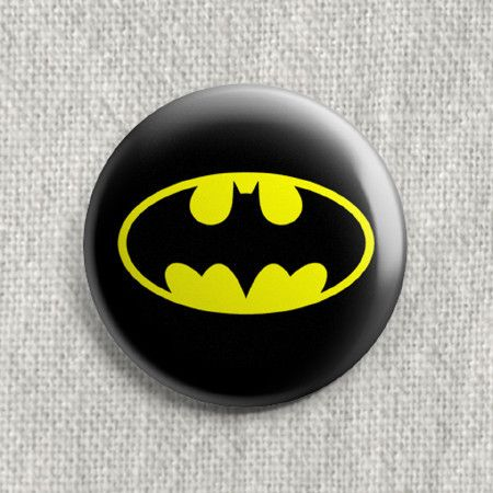 Batman Logo Badge