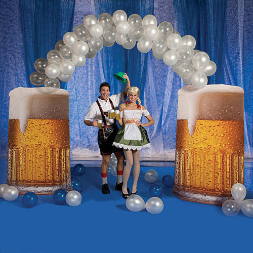 Beer Balloon Arch