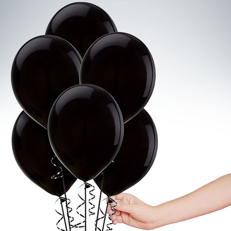 "11"" Latex Balloon - Standard Black"