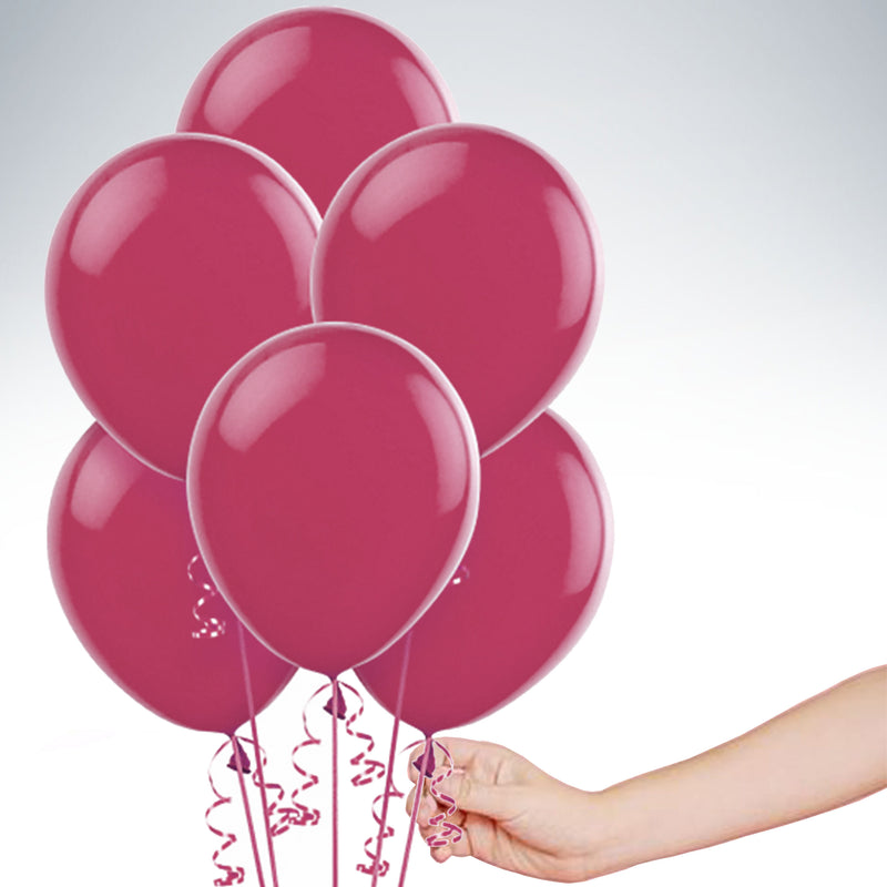 "11"" Latex Balloon - Burgundy"