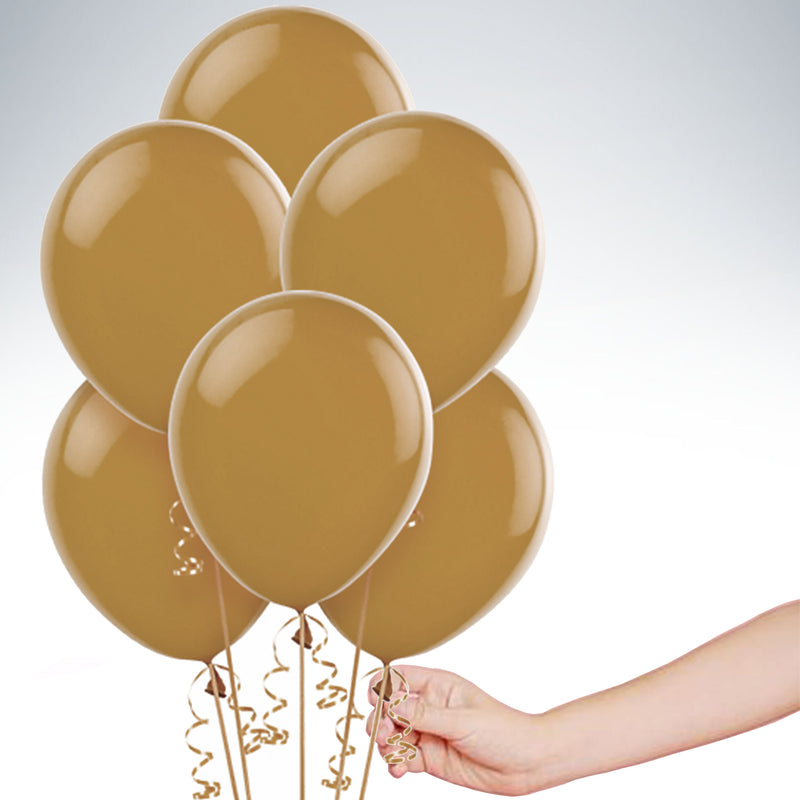 "11"" Latex Balloon - Chocolate Brown"