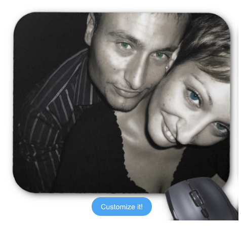 Customizable Photo Mousepad