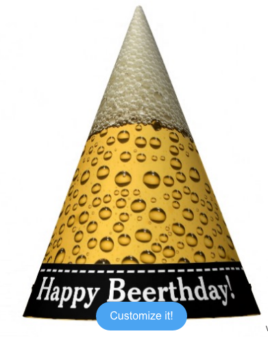Happy Beerthday Hat