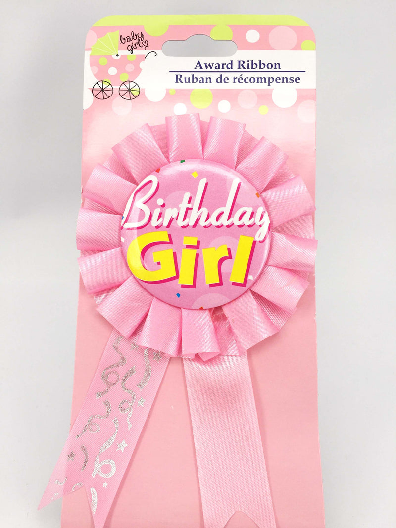 Birthday Girl Badge