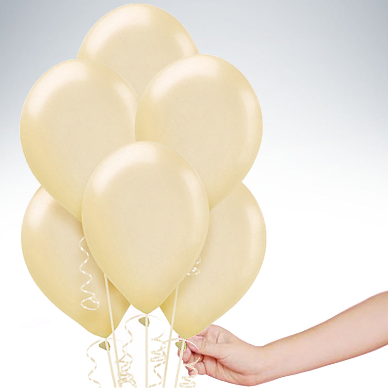 "11"" Latex Balloon - Ivory Silk"