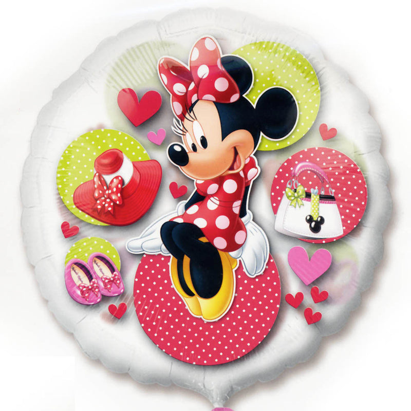 Minnie Mouse Clear Balloon 26""