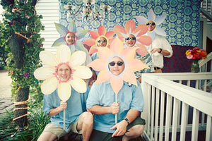 Flower Photo Booth Prop