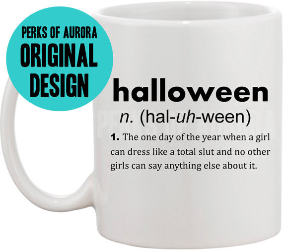 Mean Girls- Halloween definition coffee mug