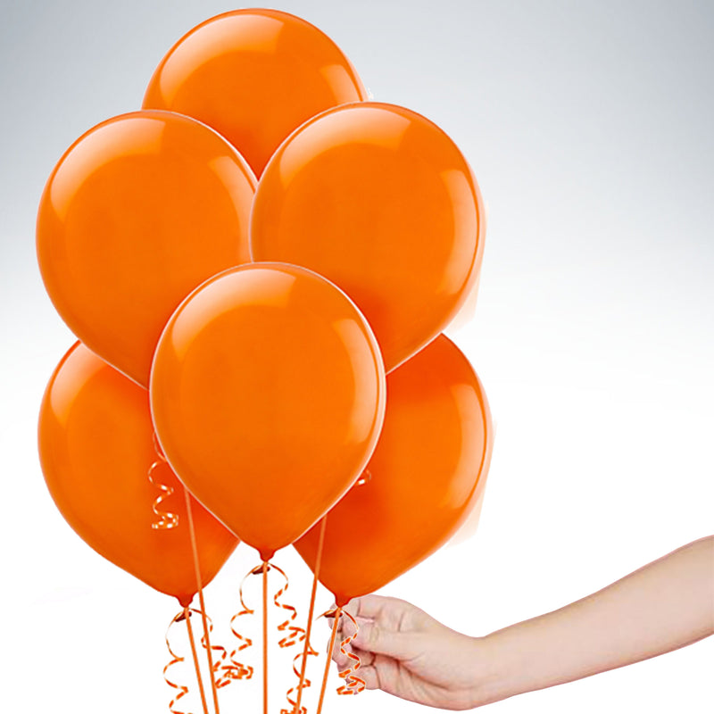 "11"" Latex Balloon - Standard Orange"