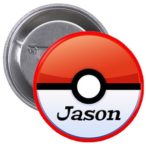 Customized Pokemon Badge (10 pcs)