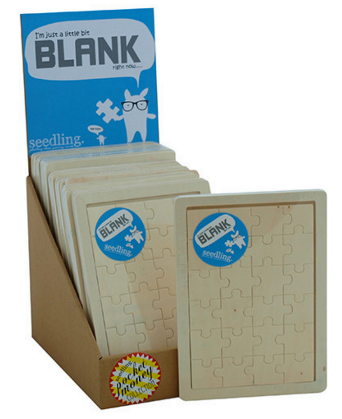 I'm Just A Bit Blank – Wooden Puzzle