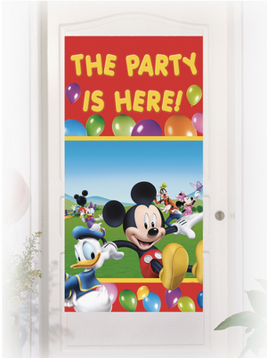 Playful Mickey Door Sign