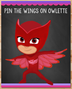 Pin the Tail on Owlette