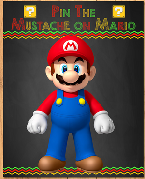 Pin the Tail on Mario