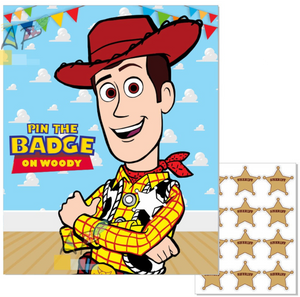 Pin the Badge on Woody Game
