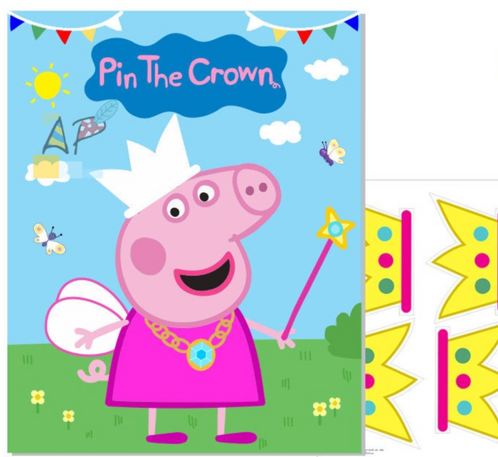 Pin the Crown on Peppa Pig