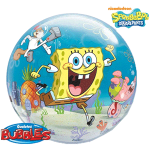 Spongebob Plastic Balloon