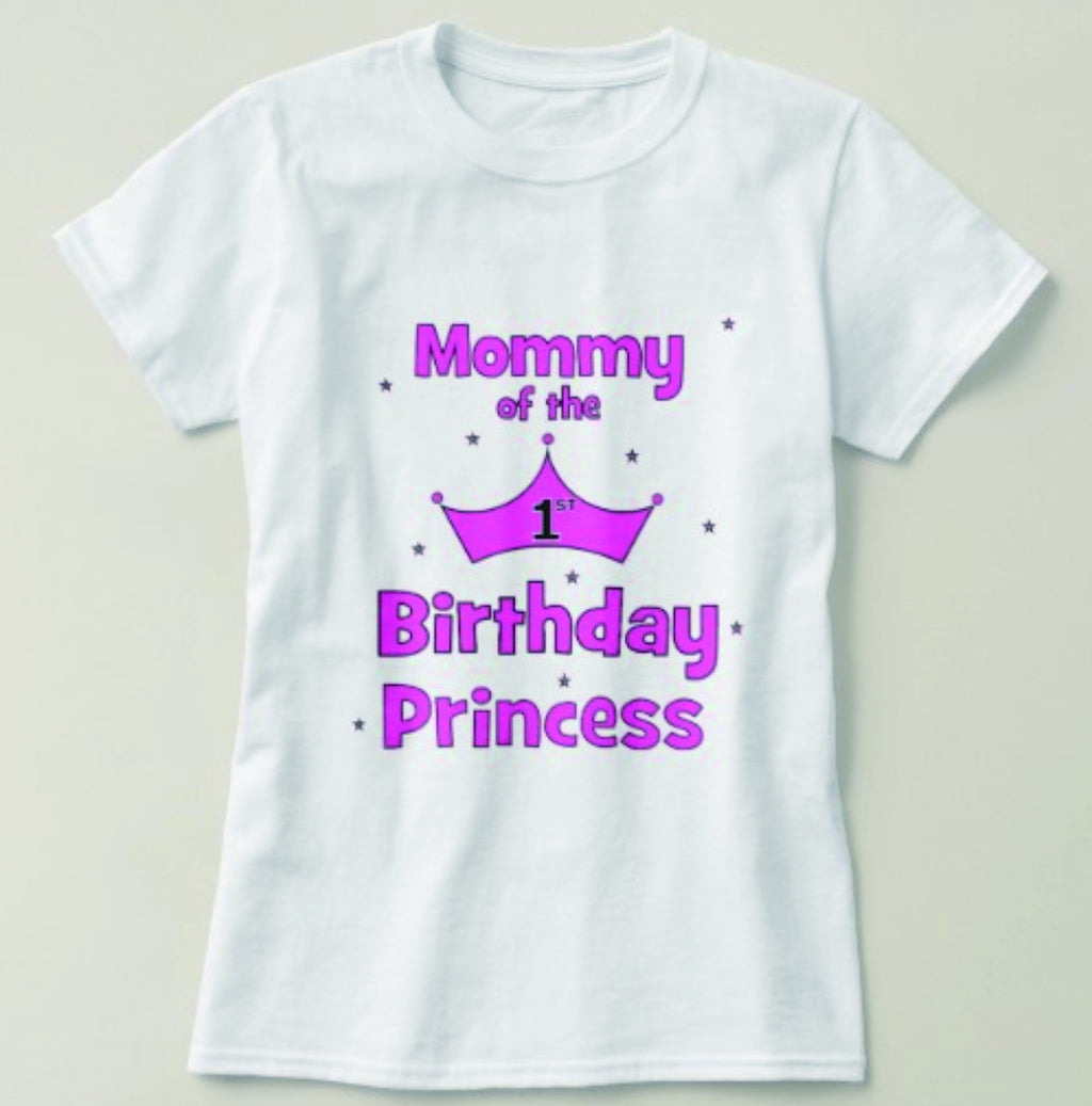 Mommy Of The Princess Tee
