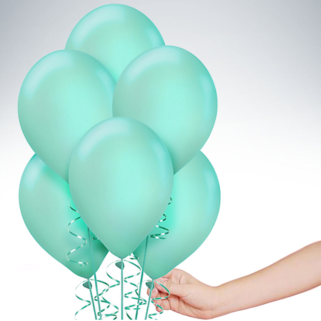 "11"" Latex Balloon - Tiffany Blue"
