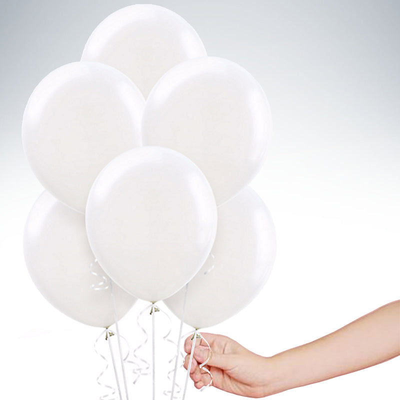 "11"" Latex Balloon - Standard White"
