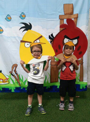 Angry Bird Photo Booth Prop