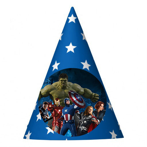 Avengers Birthday Party Hat