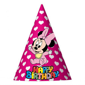 Baby Minnie Party Hat (10 pcs)