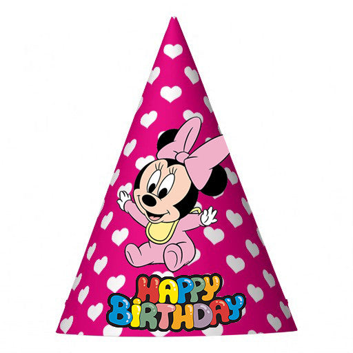 Baby Minnie Party Hat