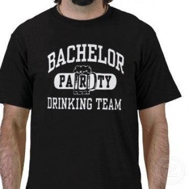 Bachelor Drinking Team Tee
