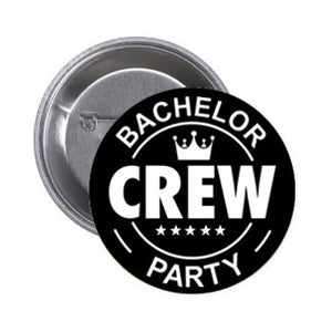 Bachelor Party Crew Badge (10 pcs)