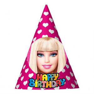 Barbie Party Hat (10 pcs)