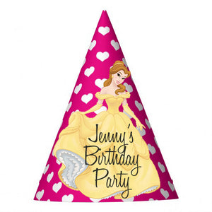 Customized Belle Party Hat (10 pcs)