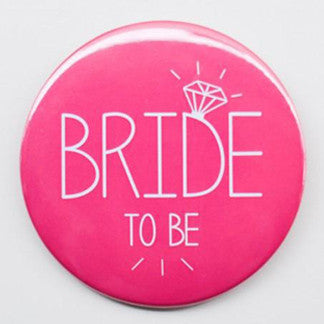 Bride to Be Badge