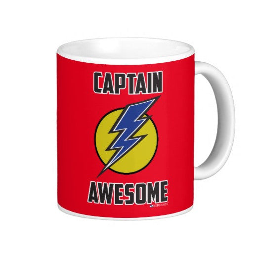 Captain Awesome Funny Mug