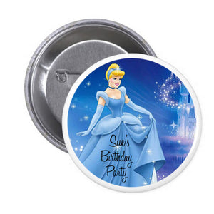 Customized Cinderella Badge (10 pcs)
