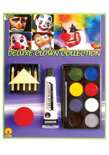 DELUXE CLOWN MAKEUP SET