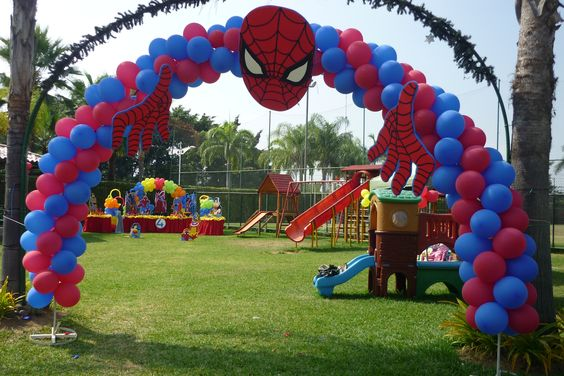 Spider-Man Balloon Arch