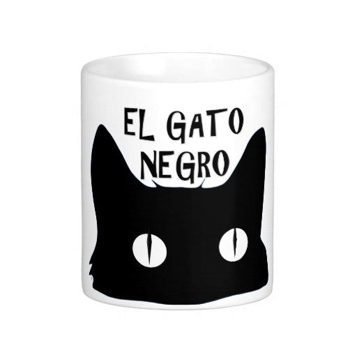 El Gato Negro The Black Cat Coffee Mug