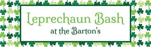 Shamrock Shimmy Personalized Banner