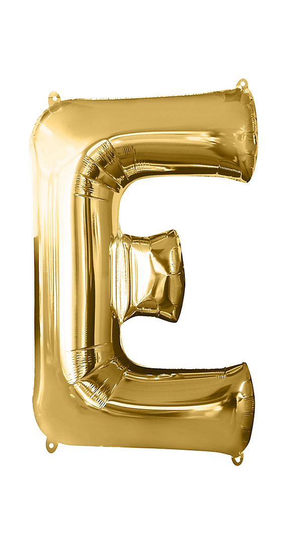 16inch Gold Letter Balloons