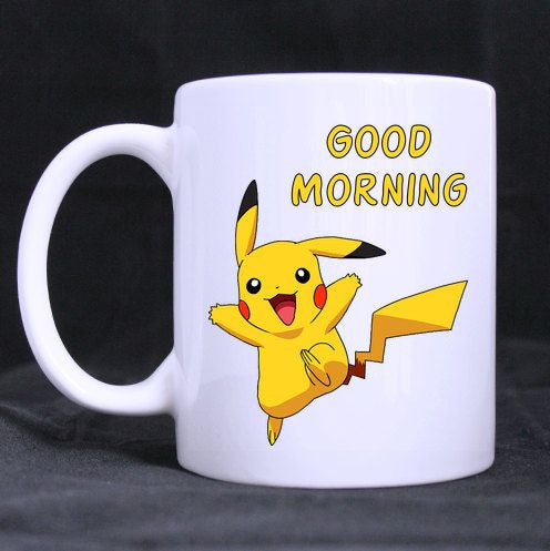 Good Morning Pikuchu Mug