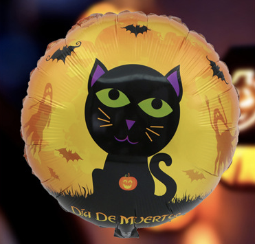 Black Cat Foil Balloon