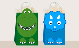 Dino Favor Bags 10ct