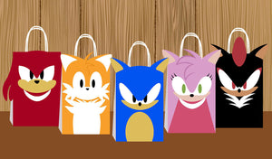 Sonic Favor Bags 10ct
