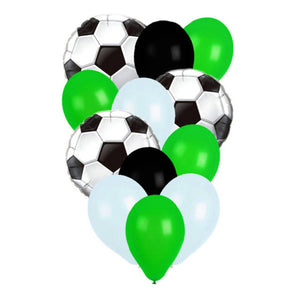 12 pieces Soccer Balloon Bouquet